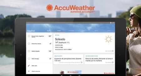 Accuweather se actualiza con soporte para Wear OS y más novedades, primero en la beta