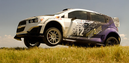 Chevrolet Sonic RS Rally Car