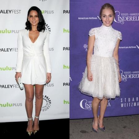 Duelo de estilos en blanco: Olivia Munn o Anna Sophia Robb