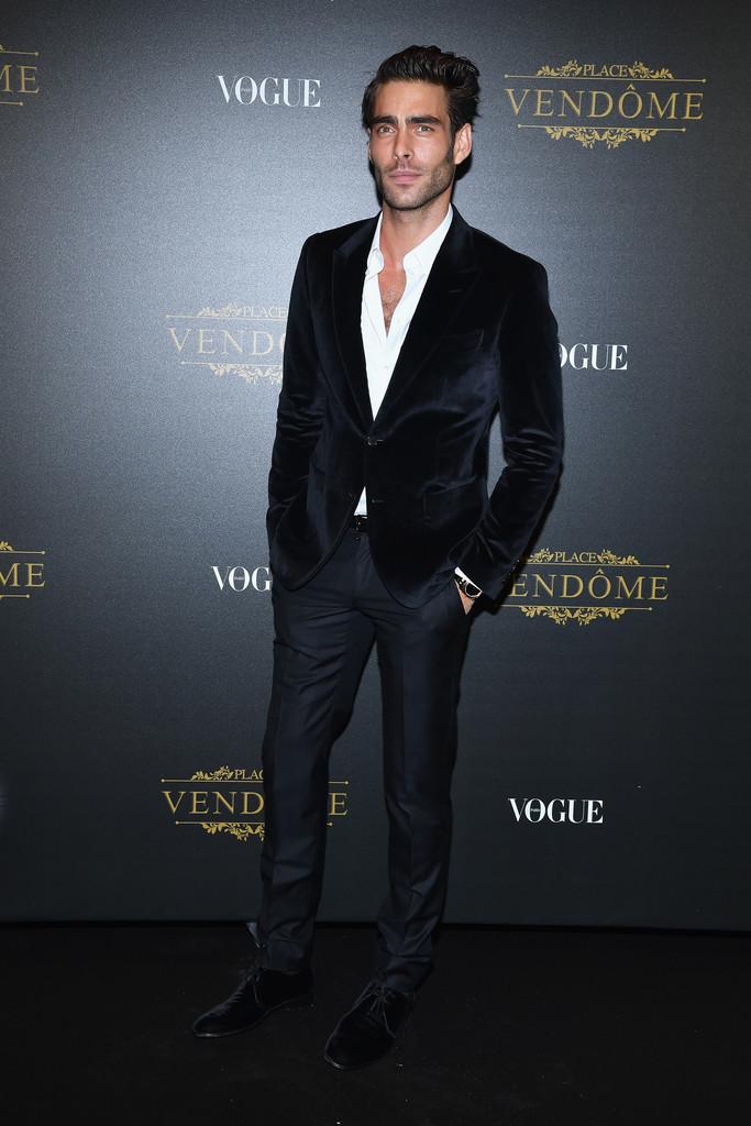 Jon Kortajarena Vogue Party Paris Fashion Week 2