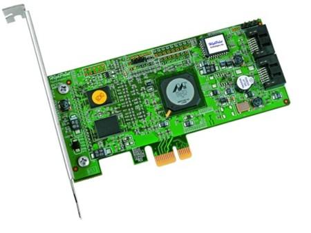 RocketRAID 3120, SATA II con soporte para RAID sobre PCIe