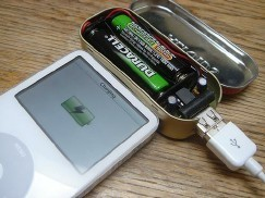 Cargadores caseros para el iPod