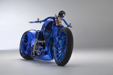 Harley Davidson Bucherer Blue Edition 2