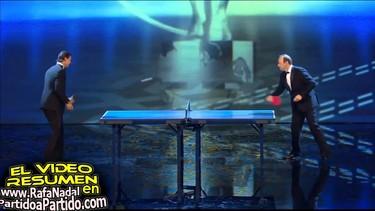 Rafa Nadal no puede con Kevin Spacey