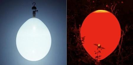 Lámparas con forma de globo