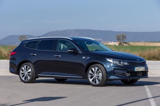 KIA Optima Sportswagon, el célebre sedan coreano se pone muy familiar