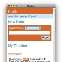Plurkair, cliente de Plurk en Adobe AIR