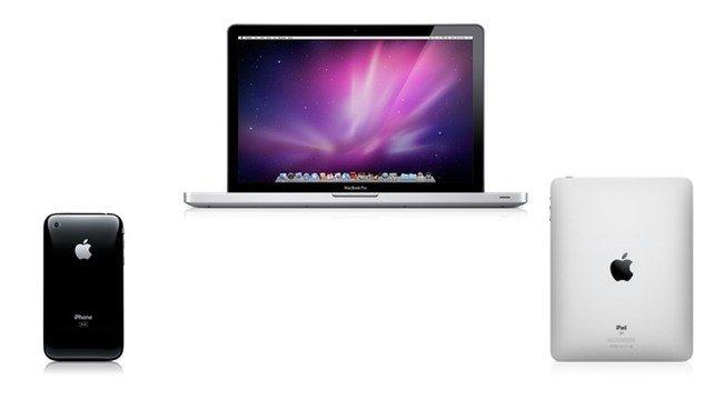 Dispositivos móviles de Apple