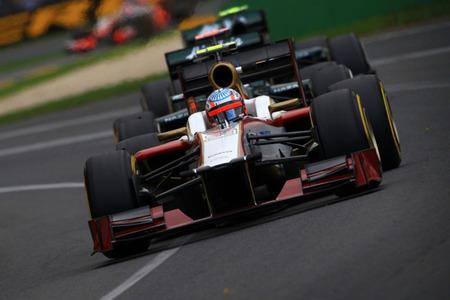 HRT borrón y a mirar al Gran Premio de Malasia