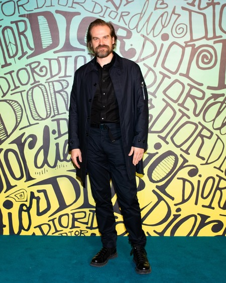 David Harbour Dior Fall 2020 3 12 19