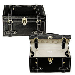 Vintage Train Case, lujoso maletín portacosméticos