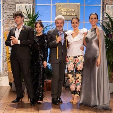 Tamara Falcó enamora con su look firmado por Avellaneda en Maestros de la Costura