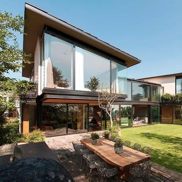 Casa V9, un sorprendente oasis de luz y tranquilidad en medio de un ambiente súper urbanizado como Ciudad de México