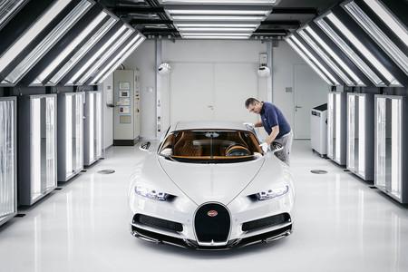 Túnel de luz Bugatti