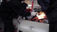 Dando una vuelta con el Toyota GT 86 preparado para la Fórmula D Asia