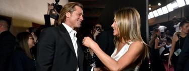 Brad Pitt y Jennifer Aniston juntos de nuevo tras 19 años sin verse el pelo