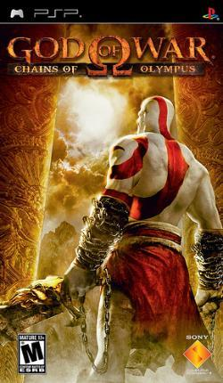 Publicada la carátula de 'God of War: Chains of Olympus'