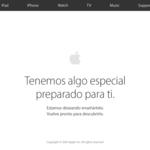 Apple Store Online cerrada, a unas horas de ver los nuevos MacBook Pro de Apple