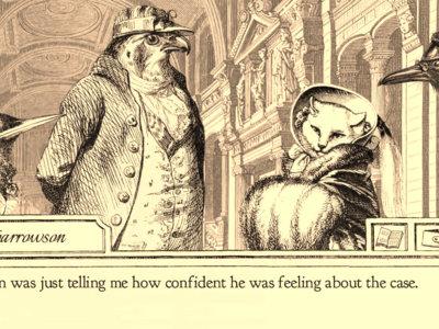 Fiscal Aviary, un Phoenix Wright protagonizado por pájaros que llega a  Steam