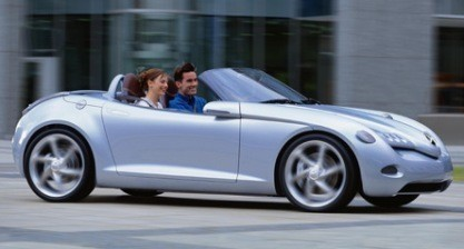 ¿Mercedes SLA Roadster?