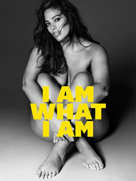I am What I am: Ashley Graham se reivindica tal y como es como nueva imagen de Violeta by Mango