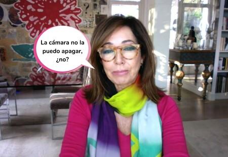 Ana Rosa Quintana se pasa a la moda del teletrabajo y presenta su programa desde casa por culpa del coronavirus