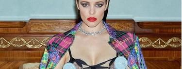 De Versace y sacaleches: la impactante fotografía de la actriz Rachel McAdams extrayéndose leche durante una sesión de fotos