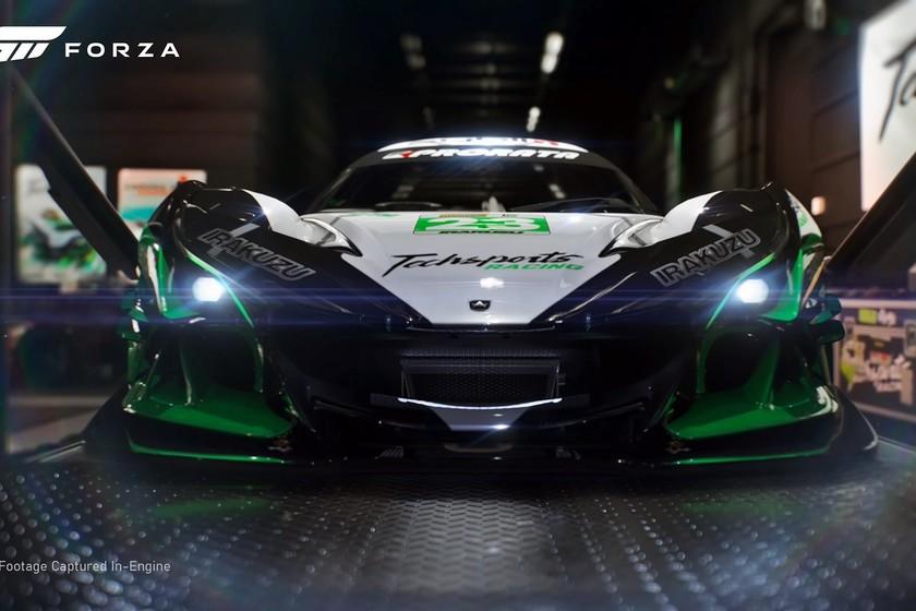 El nuevo 'Forza Motorsport' ya se ha dejado ver a 4K, y con el espectacular  Apollo IE vestido de carreras como protagonista
