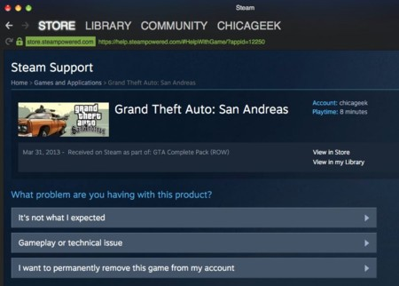 Cliente de escritorio de Steam