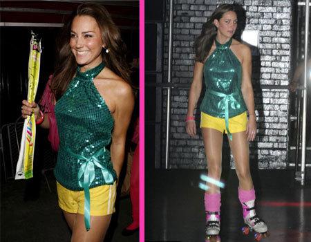 Kate Middleton una patinadora solidaria
