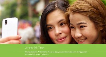 Android 5.1 hace su aparición en la web de Android One en Indonesia