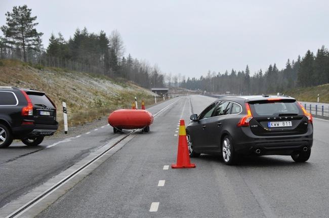 Volvo Sistema de frenado automático en cruces