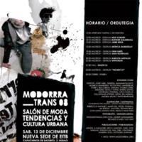 Modorrra Trans 08: Moda, tendencias y cultura urbana