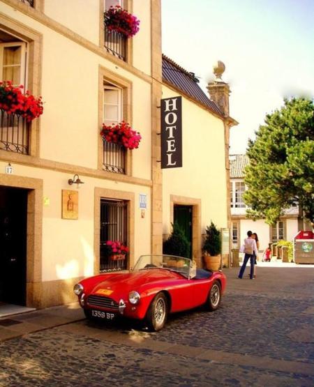 Hotel Costa Vella, un precioso oasis en el casco histórico de Santiago de Compostela