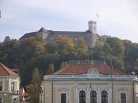 El Castillo de Ljubljana, Eslovenia