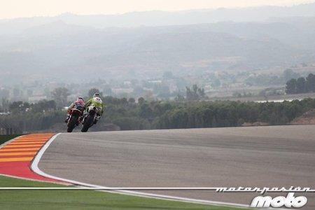 MotoGP Aragón 2011: jornada de libres marcada por los fallos eléctricos