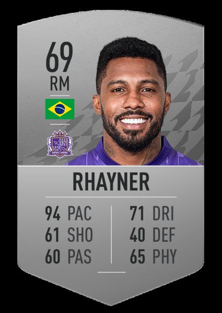 Rhayner jugadores más rápidos fifa 22