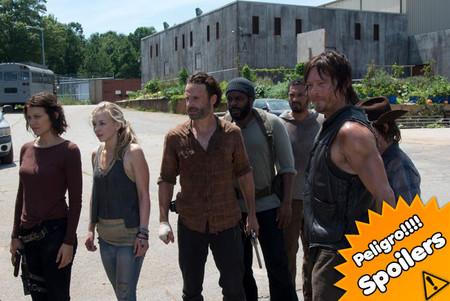 'The Walking Dead' se despide hasta febrero con un final de infarto