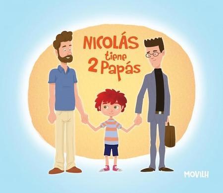 """""""Nicolas tiene dos papás"""": el libro sobre diversidad que ha levantado ampollas. ¿Y tú que opinas?"""