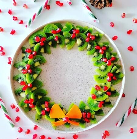 corona de frutas