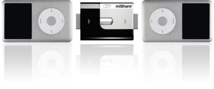 miShare, copia música entre dos iPods
