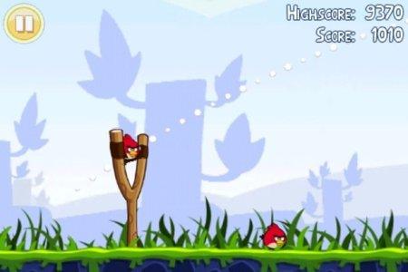 Angry Birds, tirachinas