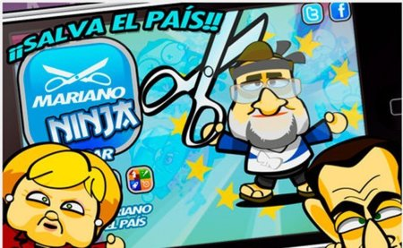 Mariano Ninja, una parodia española de la crisis llega a Android