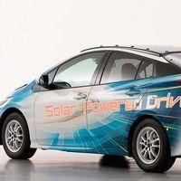 El Toyota Prius quiere hacerse aún más ecológico con su nueva versión alimentada por energía solar