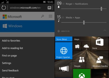 La interfaz de Windows 10 Mobile se muestra mucho más pulida en la última build filtrada