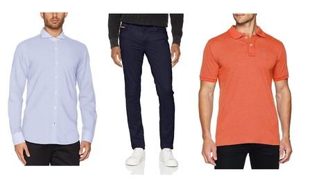 Ofertas en tallas sueltas de camisetas, polos, camisas y pantalones El Ganso desde 9 euros en Amazon
