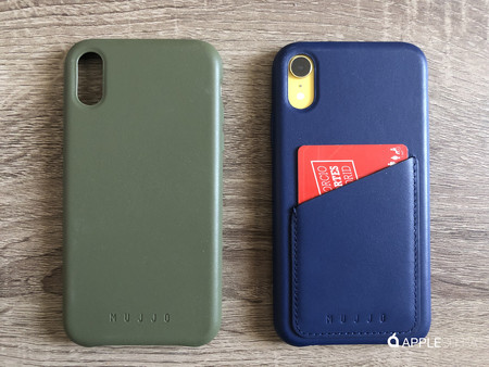 Mujjo también cuenta con fundas de cuero para iPhone XR y las hemos probado