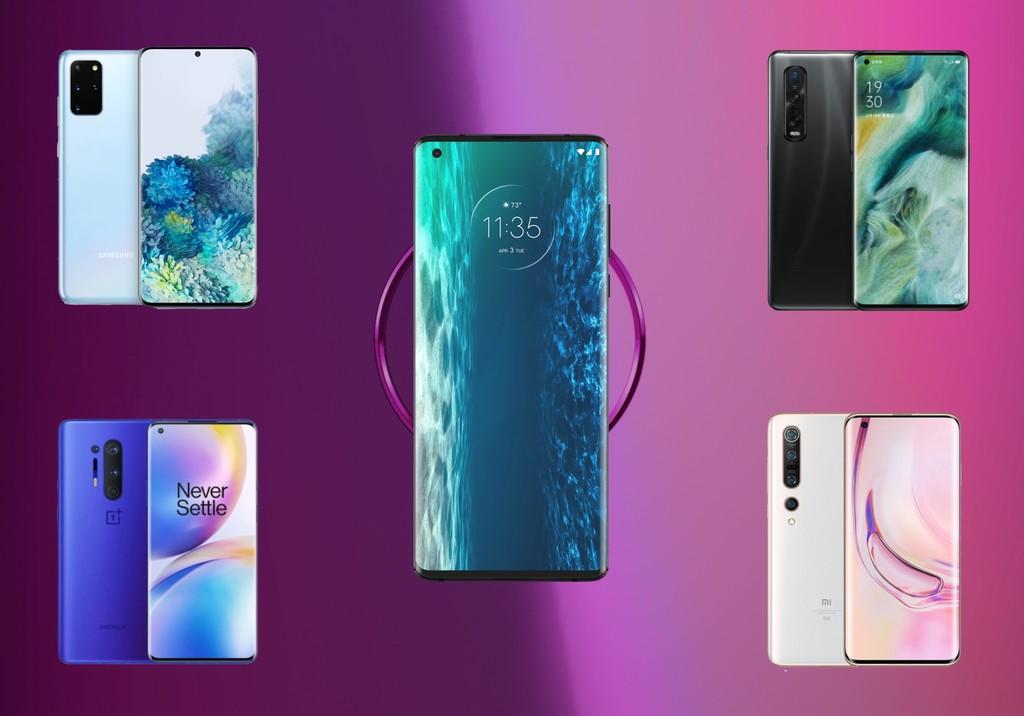 Comparativa Motorola Edge+: lo enfrentamos al OnePlus 8 Pro, Samsung Galaxy S20+, Xiaomi Mi 10 Pro y los mejores gama alta del mercado