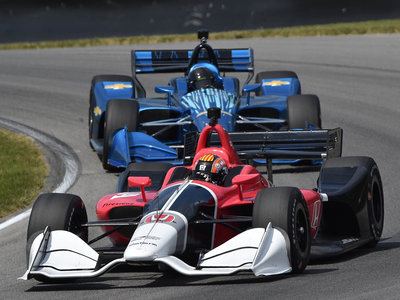Los cambios en el paquete aerodinámico para circuitos 2018 de la IndyCar promete carreras más emocionantes