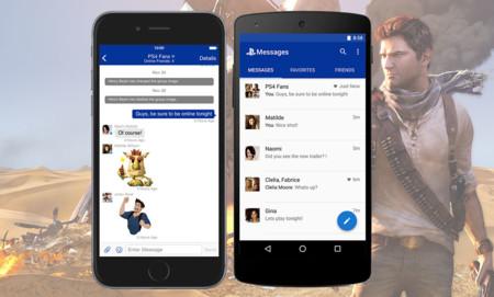 Sony lanza PlayStation Messages, su propia app de mensajería instantánea